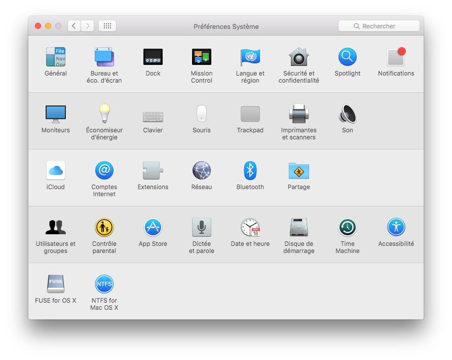 Monter une partition Linux sur Mac OS X El Capitan (10 11)
