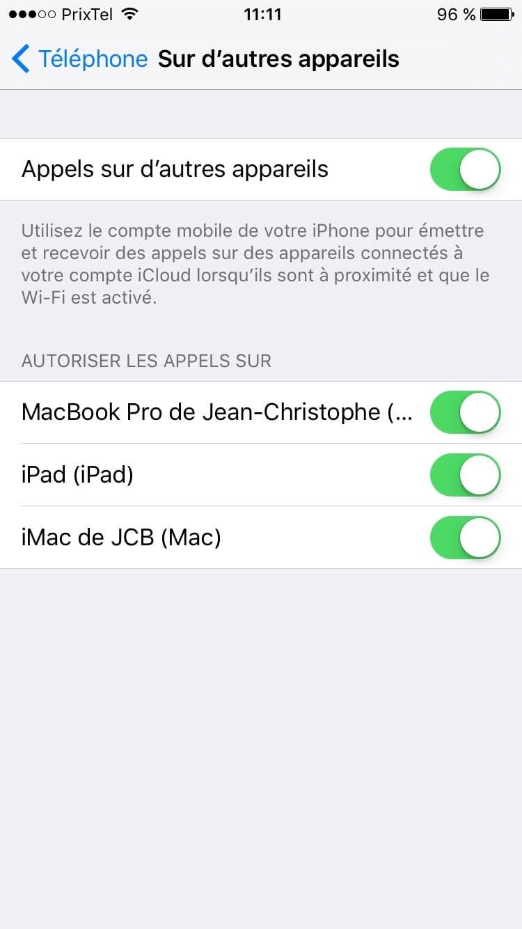 mac adresse ipad