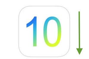 downgrade ios 10 vers ios 9 tuto