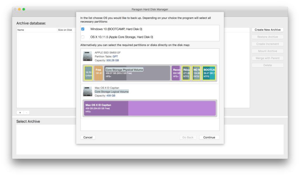 gerer les partitions sur mac ntfs