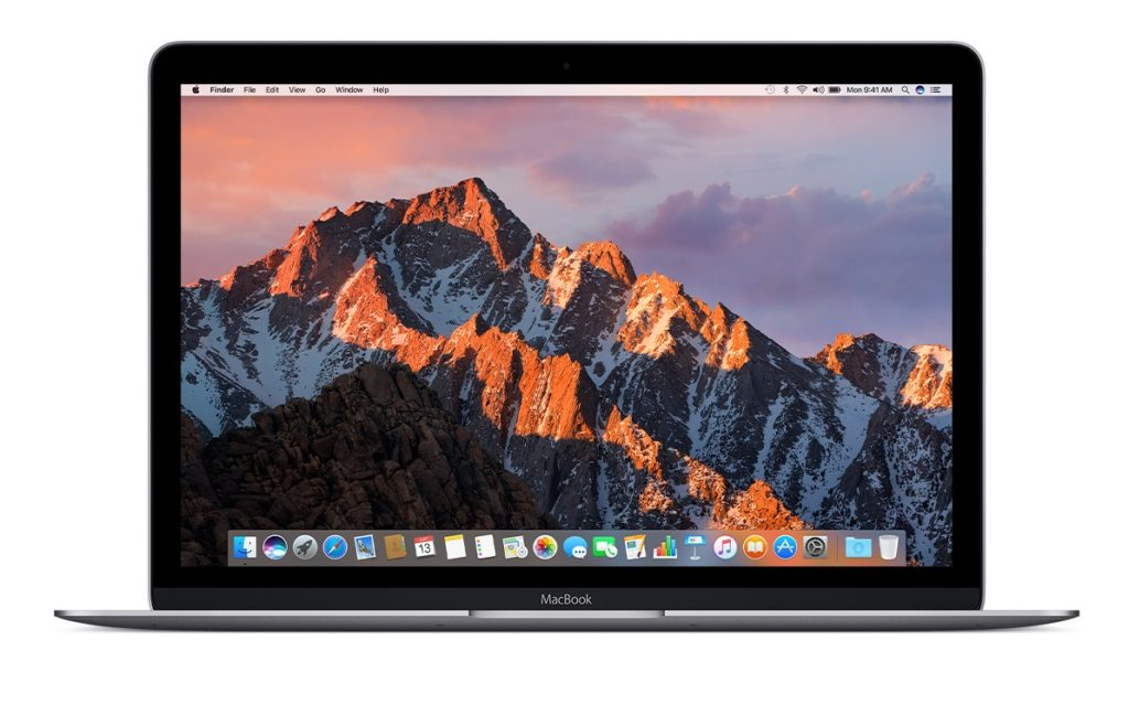 macOS Sierra configuration materielle