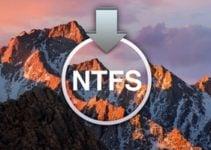 Activer l'écriture NTFS MacOS Sierra (10.12)