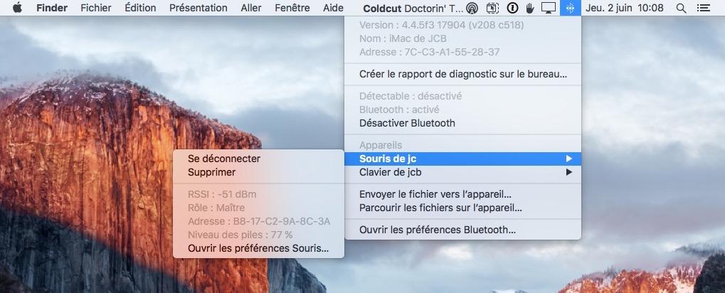 reparer le bluetooth sur mac portee
