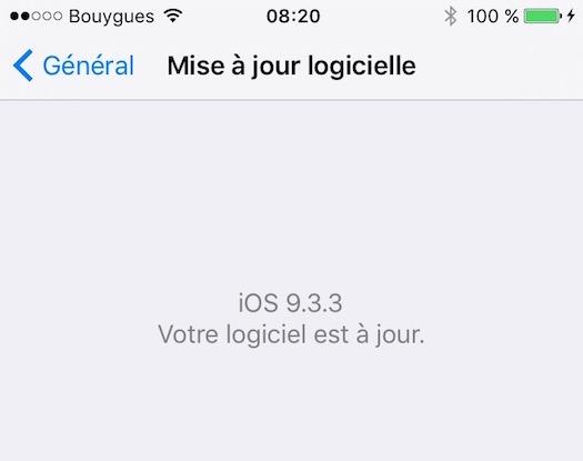 ios 9.3.3 iphone 6s