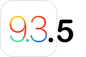 ios 9.3.5 mise a jour