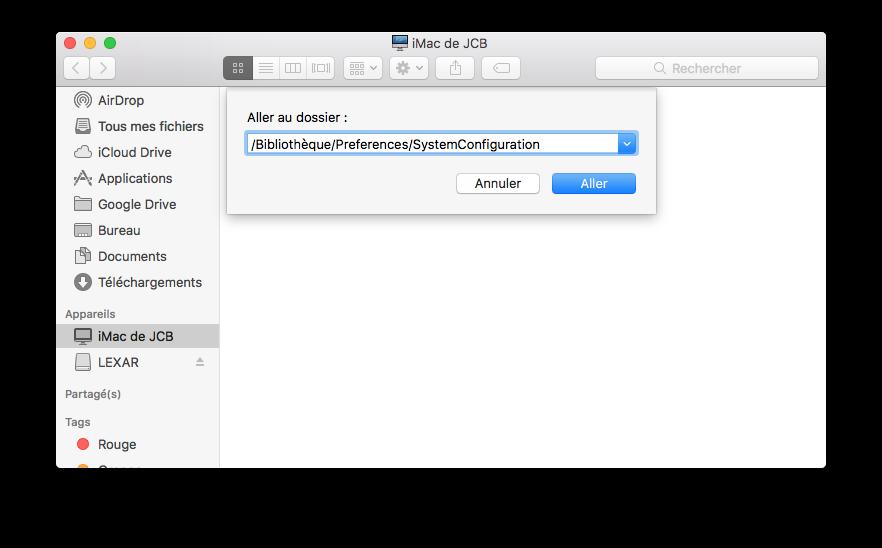 WiFi macOS Sierra configuration