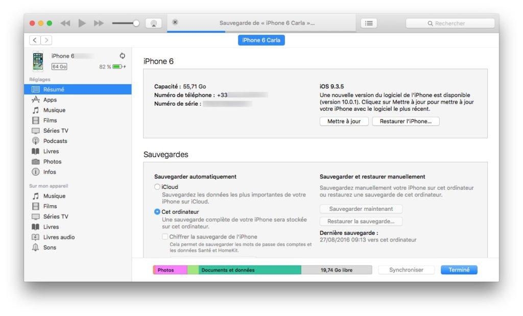 installation propre ios 10 nouvelle version disponible