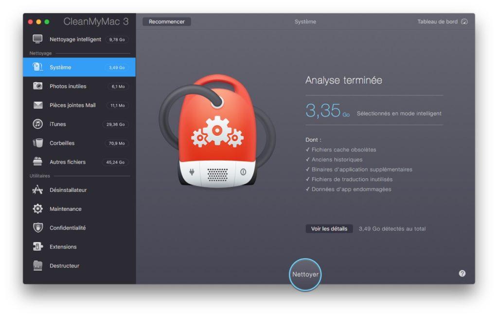 Optimiser macOS Sierra nettoyer systeme