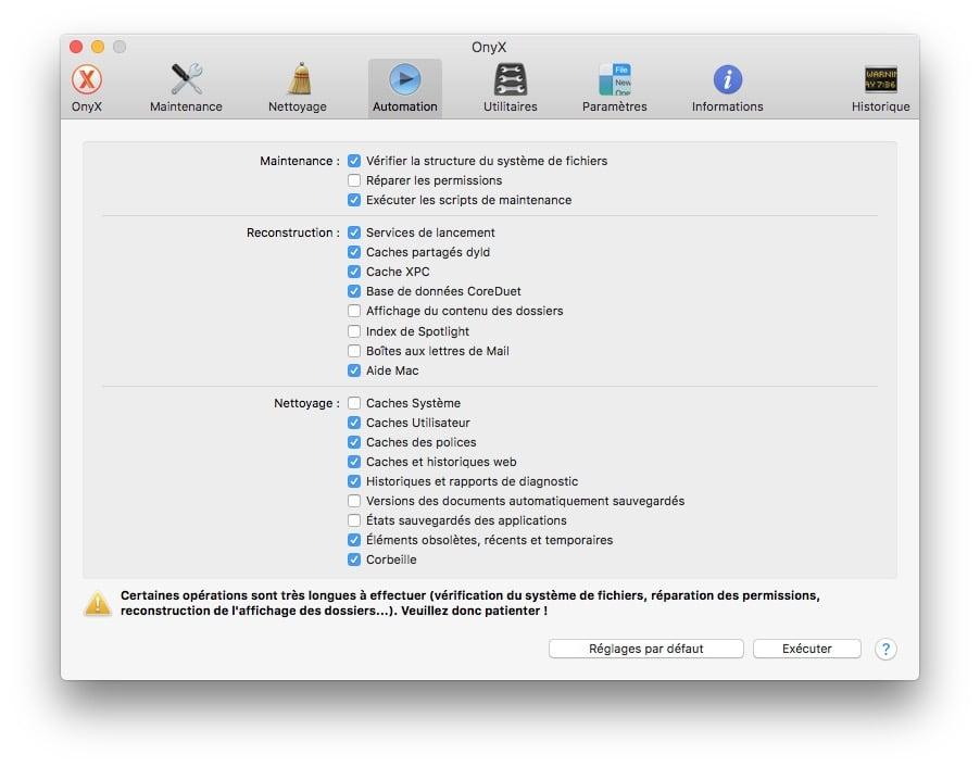 Onyx macOS Sierra automation