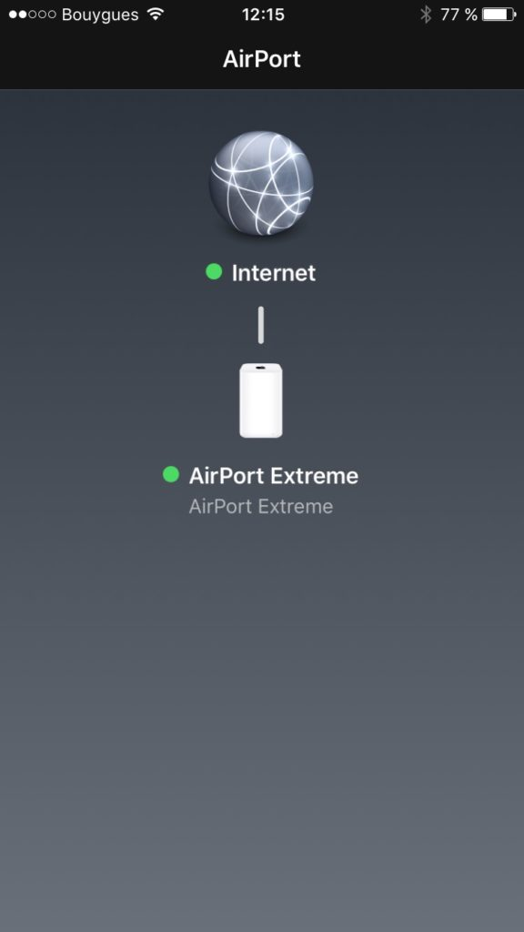 Apple airport ios