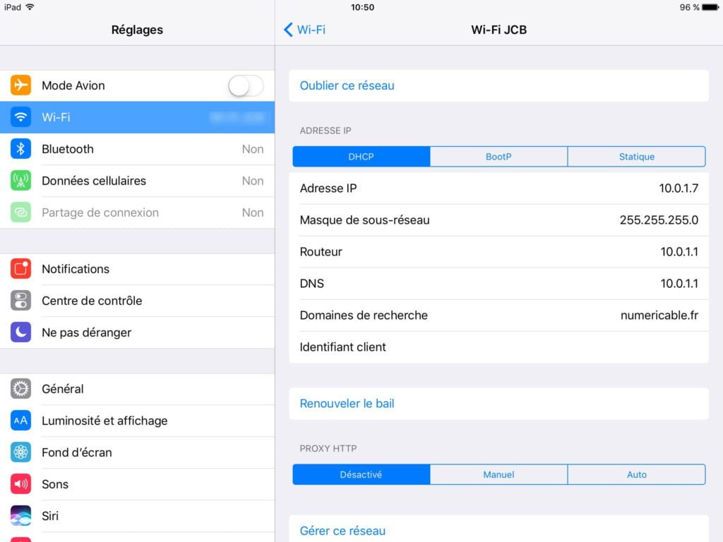 Utiliser un iPad en second ecran airplay iii