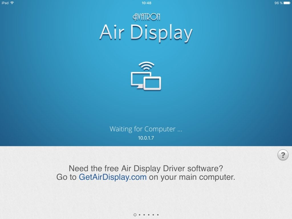 Utiliser un iPad en second ecran avec airplay 3