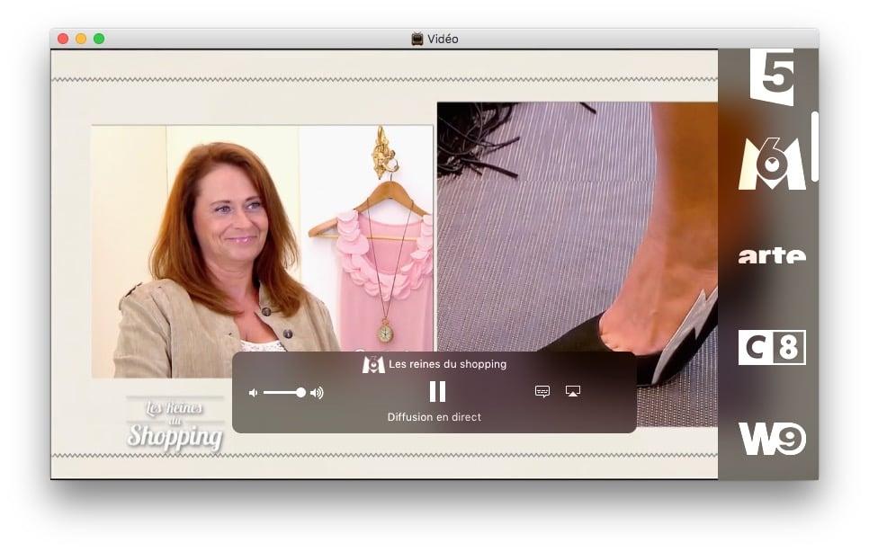 voir la tele sur Mac en direct