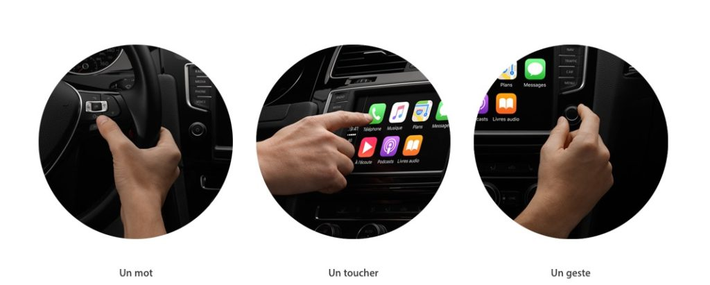 apple carplay tactile