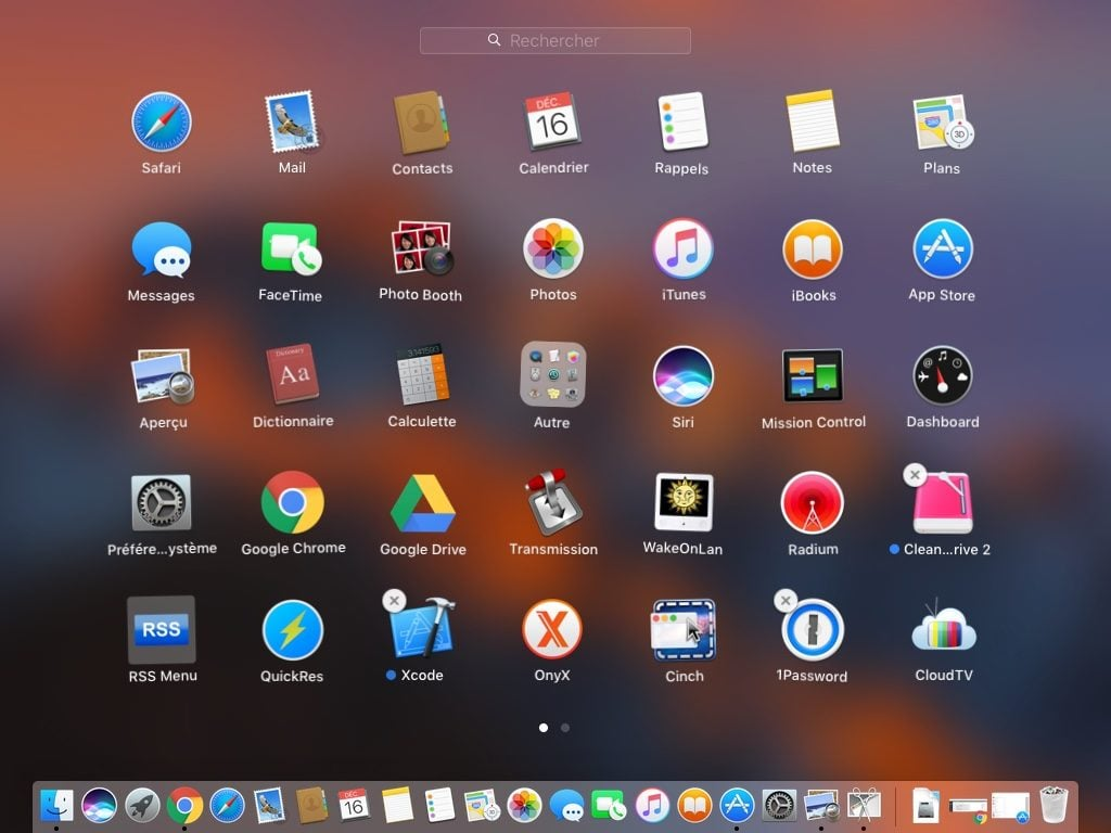 supprimer une app sur macos sierra launchpad