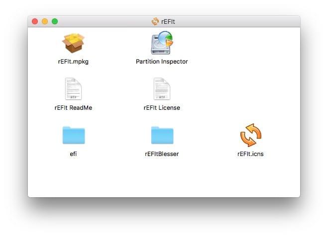 Dual boot macOS Sierra Linux rEFIt