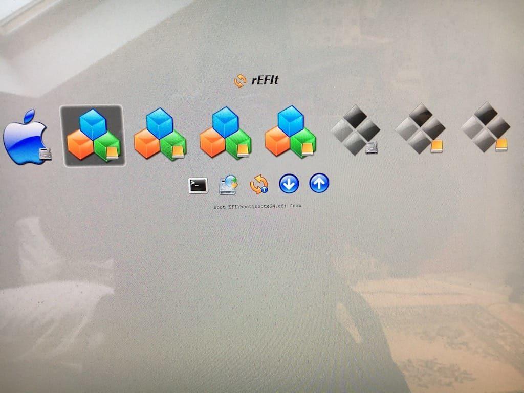 Dual boot macOS Sierra Linux refit boot