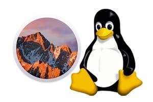 Dual boot macOS Sierra Linux tutoriel