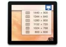 Changer la résolution d'écran de son Mac rapidement (Sierra, El Capitan…)
