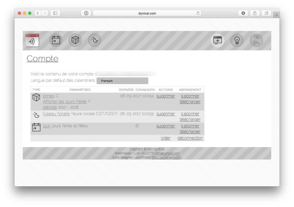 Ajouter les jours feries sur le calendrier Mac iphone