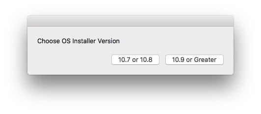 Reconstruire la partition Recovery Mac version 10.7 ou 10.9 et au dela
