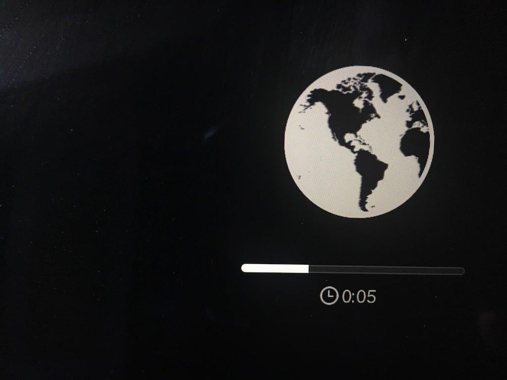 reinstallation mac par internet connexion obligatoire
