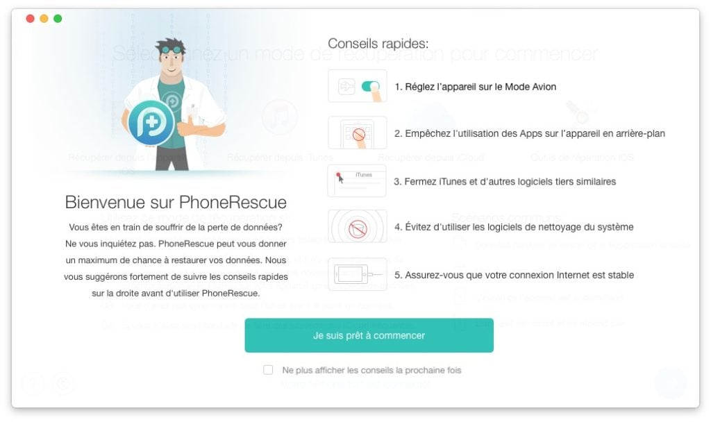 Recuperer des donnees effacees sur iphone ipad ipod touch