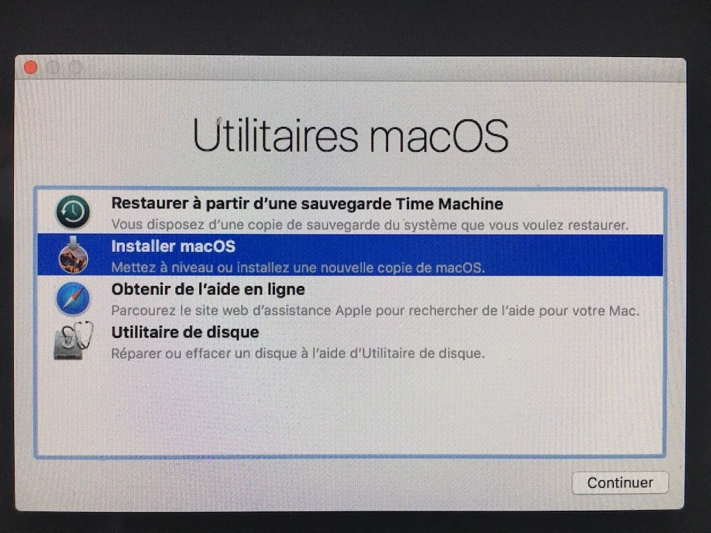 Downgrade macOS High Sierra installer macos sierra
