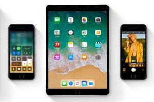 iOS 11 appareils compatibles iphone ipad ipod
