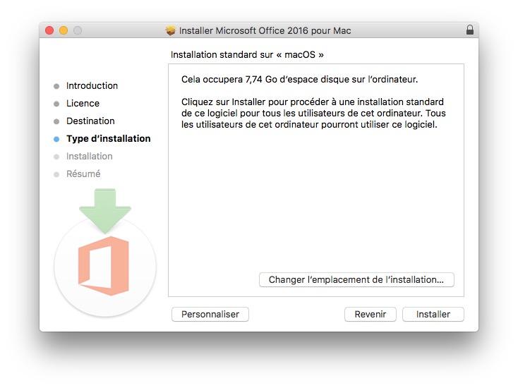 Installer une application sur Mac PKG