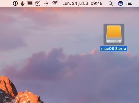 Utiliser le mode disque cible sur Mac disque externe