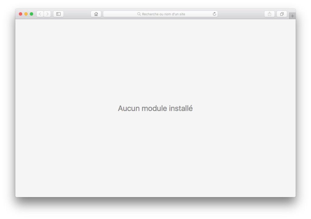Accelerer Safari Mac supprimer plug-ins