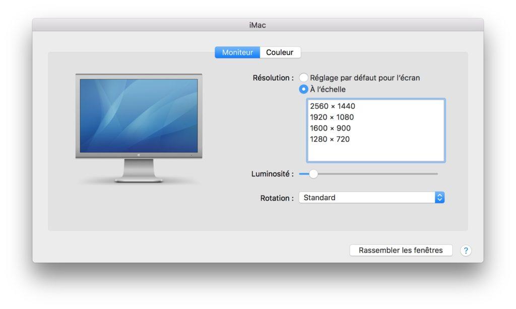 Utiliser un iMac en second ecran avec un macbook pro