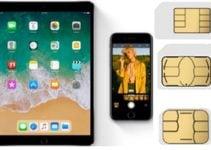 Carte SIM iPhone / iPad (standard, micro, nano, intégrée) : trouver le modèle utilisé