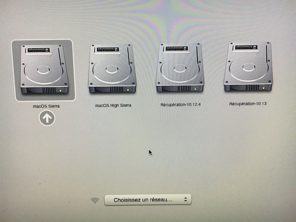 Installer macOS High Sierra dual boot