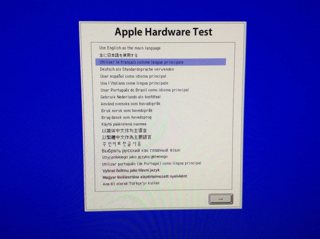 Tester son Mac composants apple hardaware test