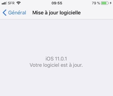 ios 11.0.1 disponible