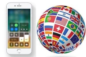Changer la langue d'un iPhone iPad iPod touch