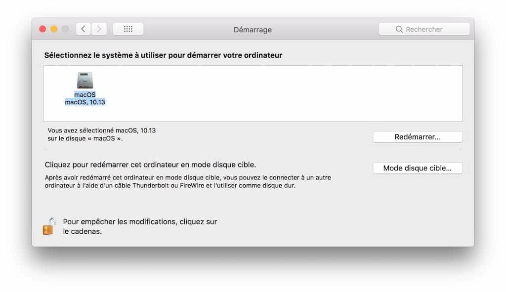 Installer Windows sur Mac sans Boot Camp disque de demarrage