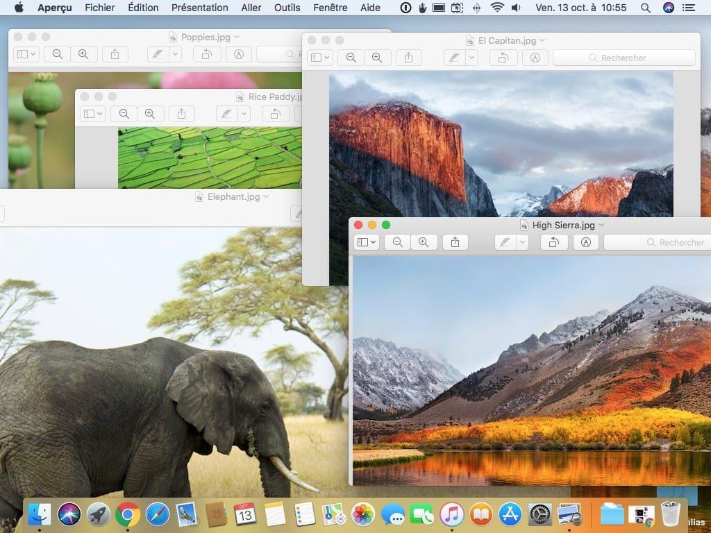 Ouvrir tous les images dans une fenetre avec Apercu ouvrir chaque fichier dans sa propre fenetre