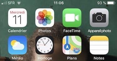 Scanner un QR Code avec un iPhone sous iOS 11 avec app photo