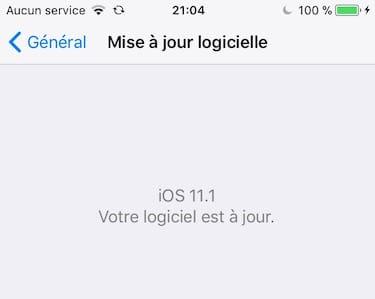 iOS 11.1 iPhone