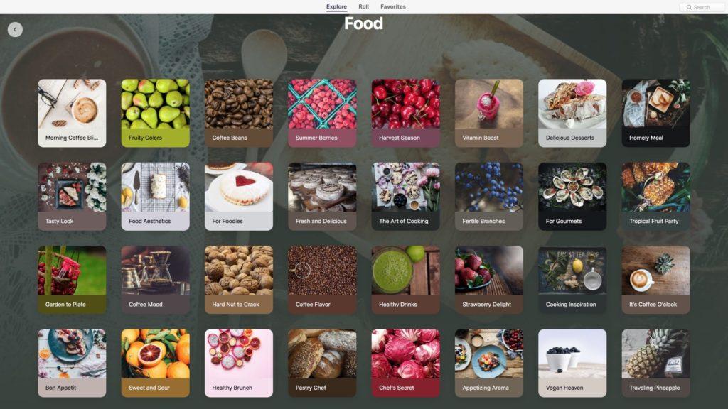 Fond d'écran Mac nourriture voiture people