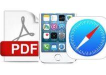 Enregistrer une page web en PDF sur iPhone avec Safari