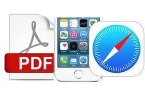 Enregistrer une page web en PDF sur iPhone ipad tutoriel complet
