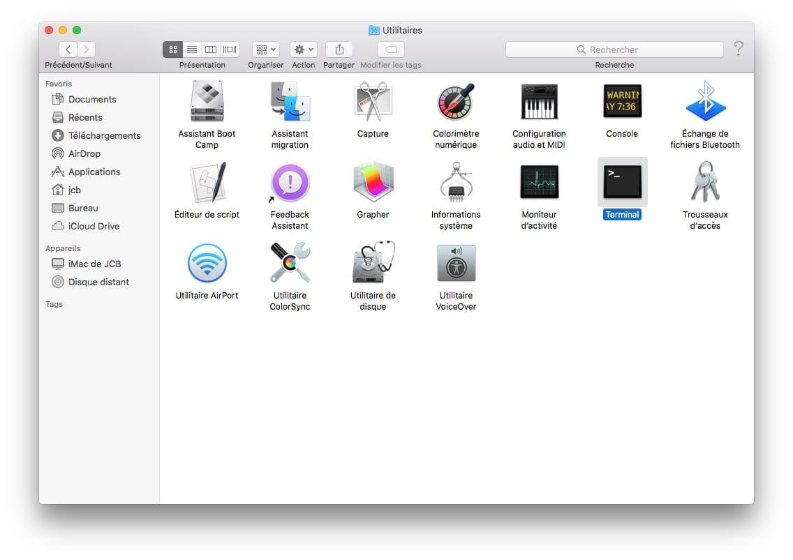 Télécharger le fichier d'installation complet de macOS High Sierra