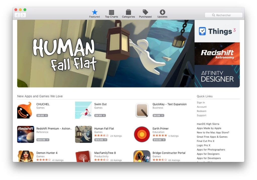 Changer le pays de son App Store US