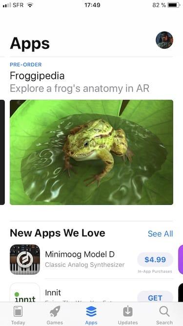 Changer le pays de son App Store avec un iPad