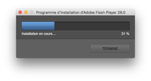 Installer Flash Player macOS High Sierra 10.13