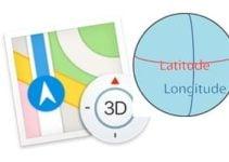 Saisir des coordonnées GPS sur iPhone (Plans, Maps)